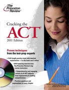 Cracking the ACT with DVD, 2011 Edition 0 9780375427992 0375427996