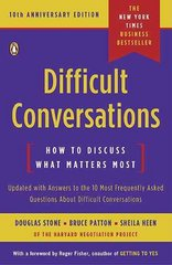 Difficult Conversations 10th Edition 9780143118442 0143118447