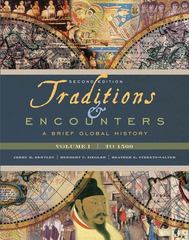 Traditions & Encounters: A Brief Global History 2nd edition 9780077408015 0077408012