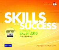 Skills for Success with Microsoft Excel 2010, Comprehensive 1st Edition 9780135100509 013510050X
