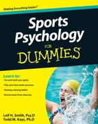 Sports Psychology For Dummies 1st Edition 9780470676592 0470676590
