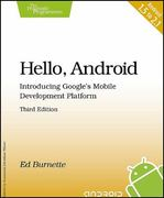 Hello, Android 3rd edition 9781934356562 1934356565