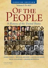 Of the People 1st Edition 9780195390735 0195390733