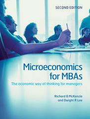 Microeconomics for MBAs 2nd edition 9780521191470 0521191475