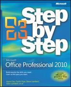 Microsoft Office Professional 2010 Step by Step 1st Edition 9780735626966 0735626960