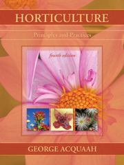 Horticulture 4th Edition 9780131592476 0131592475
