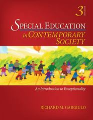 Special Education in Contemporary Society 3rd edition 9781412963176 1412963176