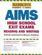 Barron's AIMS High School Exit Exams Reading and Writing 0 9780764134968 0764134965