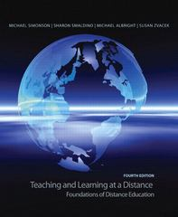 Teaching and Learning at a Distance 4th Edition 9780135137765 0135137764