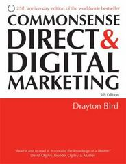 Commonsense Direct and Digital Marketing 5th edition 9780749447601 0749447605