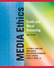 Media Ethics 9th Edition 9780205029044 0205029043