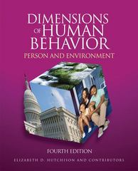 Dimensions of Human Behavior 1st Edition 9781483313634 1483313638