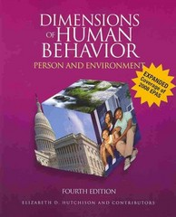 Dimensions of Human Behavior 4th edition 9781412988797 1412988799