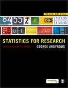 Statistics for Research 3rd Edition 9781849205955 1849205957