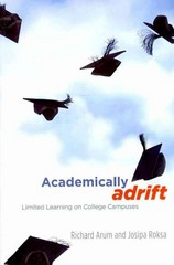 Academically Adrift 1st Edition 9780226028569 0226028569