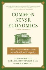Common Sense Economics 2nd edition 9780312644895 0312644892