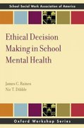 Ethical Decision Making in School Mental Health 1st Edition 9780199735853 0199735859