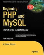 Beginning PHP and MySQL 4th Edition 9781430231141 1430231149
