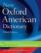 New Oxford American Dictionary 3rd Edition 9780195392883 0195392884