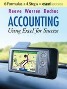Accounting Using Excel for Success (with Premium Support Web Site 2-Semester Printed Access Card) 1st edition 9780538480710 0538480718