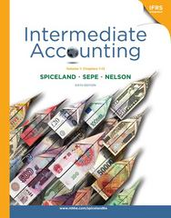 Loose-leaf Intermediate Accounting, Volume 1 (ch.1-12) 6th edition 9780077403614 0077403614