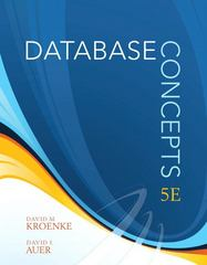 Database Concepts 5th edition 9780132998567 0132998564