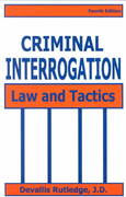 Criminal Interrogation 4th Edition 9781928916161 1928916163