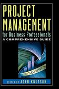 Project Management for Business Professionals 1st Edition 9780471380337 0471380334