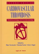 Cardiovascular Thrombosis 2nd edition 9780397587728 0397587724