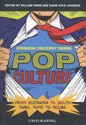 Introducing Philosophy Through Pop Culture 1st Edition 9781444334531 1444334530