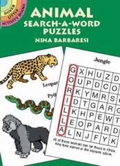 Animal Search-a-Word Puzzles 0 9780486427676 0486427676
