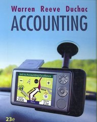 Accounting 23rd edition 9780324662962 0324662963