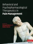 Behavioral and Psychopharmacologic Pain Management 1st edition 9780521884341 0521884349