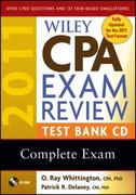 Wiley CPA Exam Review 2011 Test Bank CD , Complete Exam 16th edition 9780470554333 0470554339