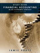 Financial Accounting in an Economic Context, Study Guide 8th edition 9780470650370 0470650370