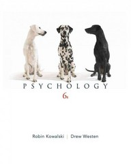 Psychology 6th edition 9780470646441 0470646446