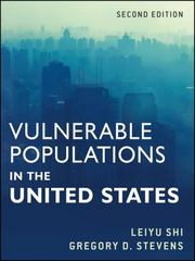 Vulnerable Populations in the United States 2nd Edition 9780470873311 0470873310