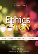 Ethics and Law for School Psychologists 6th Edition 9780470579060 0470579064