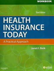Workbook for Health Insurance Today 3rd edition 9781437717747 1437717748