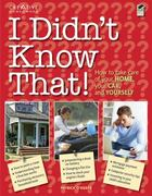 I Didn't Know That! 1st edition 9781580114882 1580114881