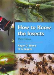 How to Know the Insects 3rd Edition 9781478615965 1478615966