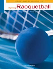 Beginning Racquetball 7th Edition 9781133170990 1133170994