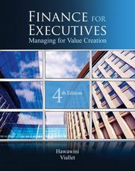 Finance for Executives 4th Edition 9780538751346 0538751347