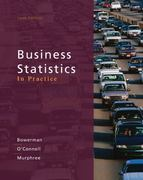 Loose-leaf Version Business Statistics in Practice 6th edition 9780077404741 0077404742