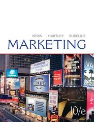 Loose-leaf Edition Marketing 10th edition 9780077405380 0077405382