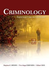 Criminology 7th edition 9781422463321 142246332X