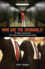 Who Are the Criminals? 1st Edition 9781400845071 1400845076