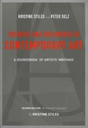 Theories and Documents of Contemporary Art 2nd edition 9780520257184 0520257189