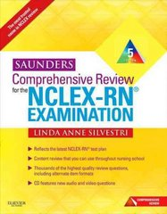 Saunders Comprehensive Review for the NCLEX-RN® Examination 5th Edition 9781437708257 1437708250