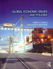Global Economic Issues and Policies 2nd edition 9780203813287 0203813286